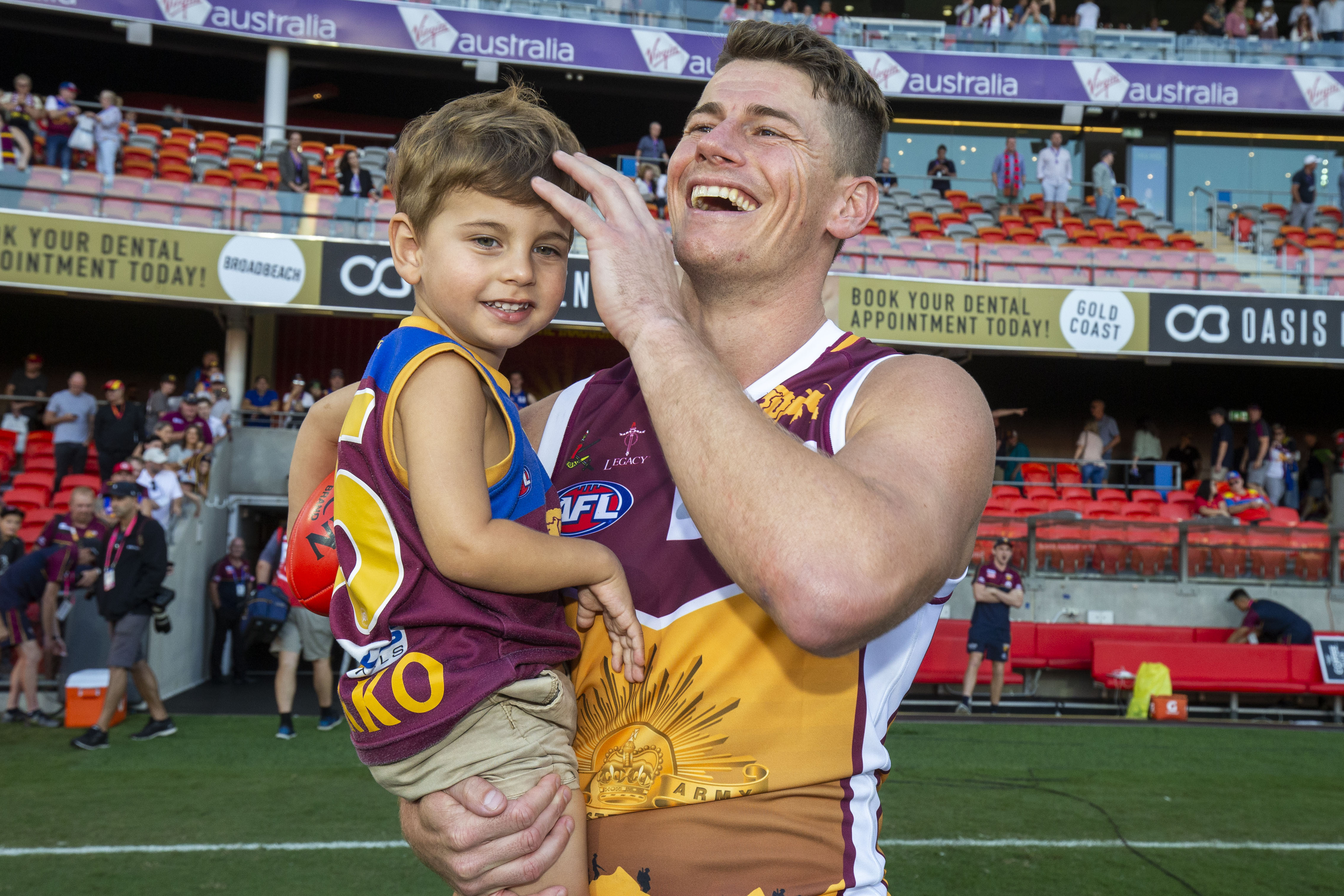 Article image for The Lions demolish the Suns in the QClash