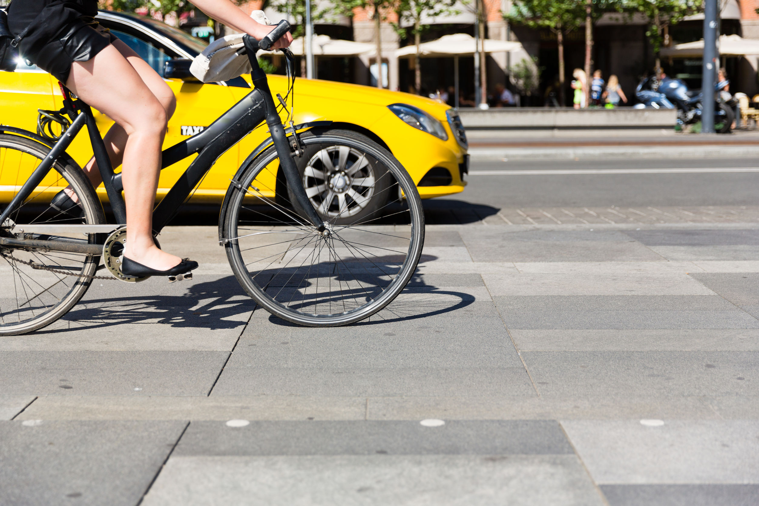 Article image for Alarming number of cars passing within a metre of cyclists