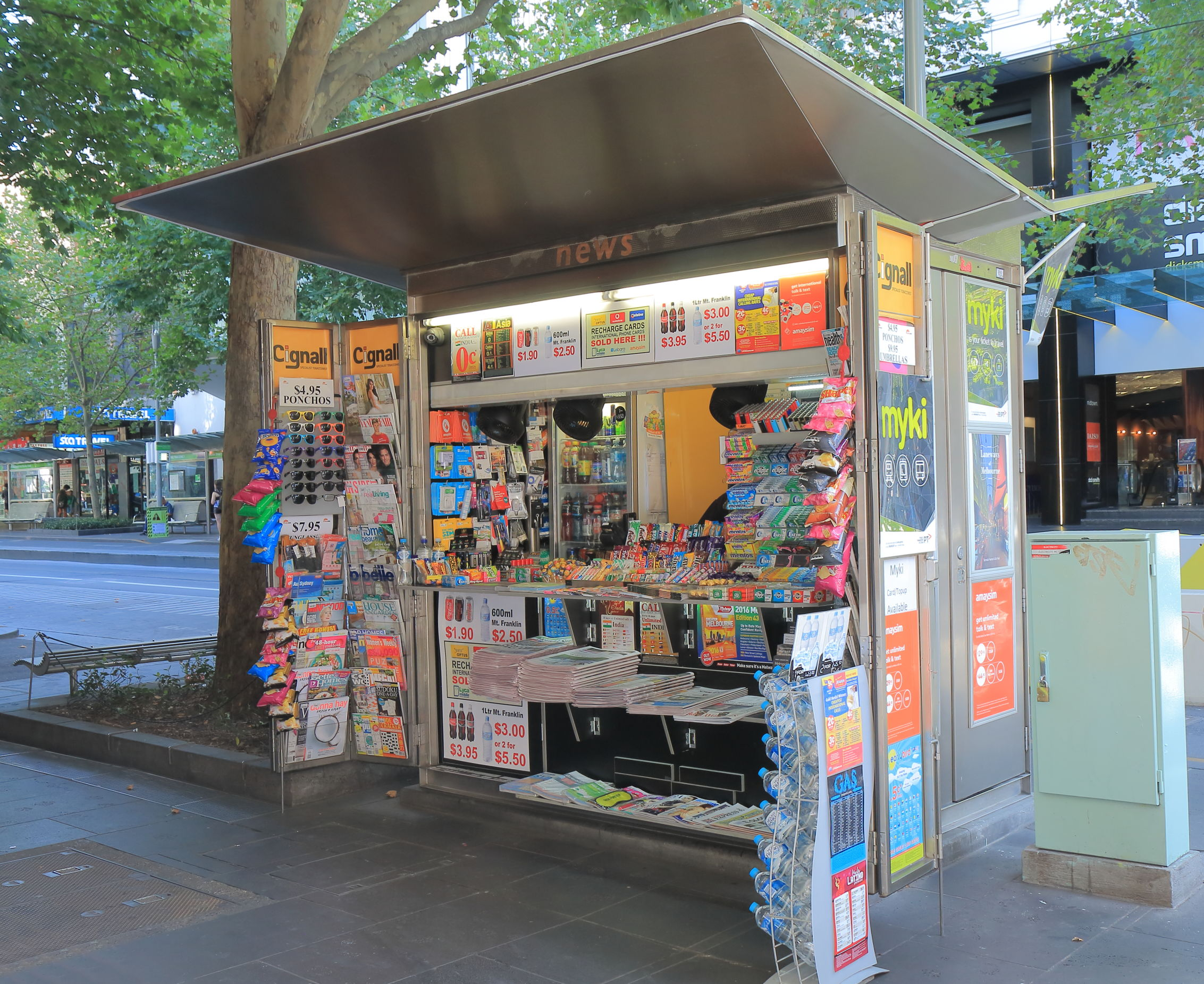 Article image for Melbourne's city kiosks set to be scrapped