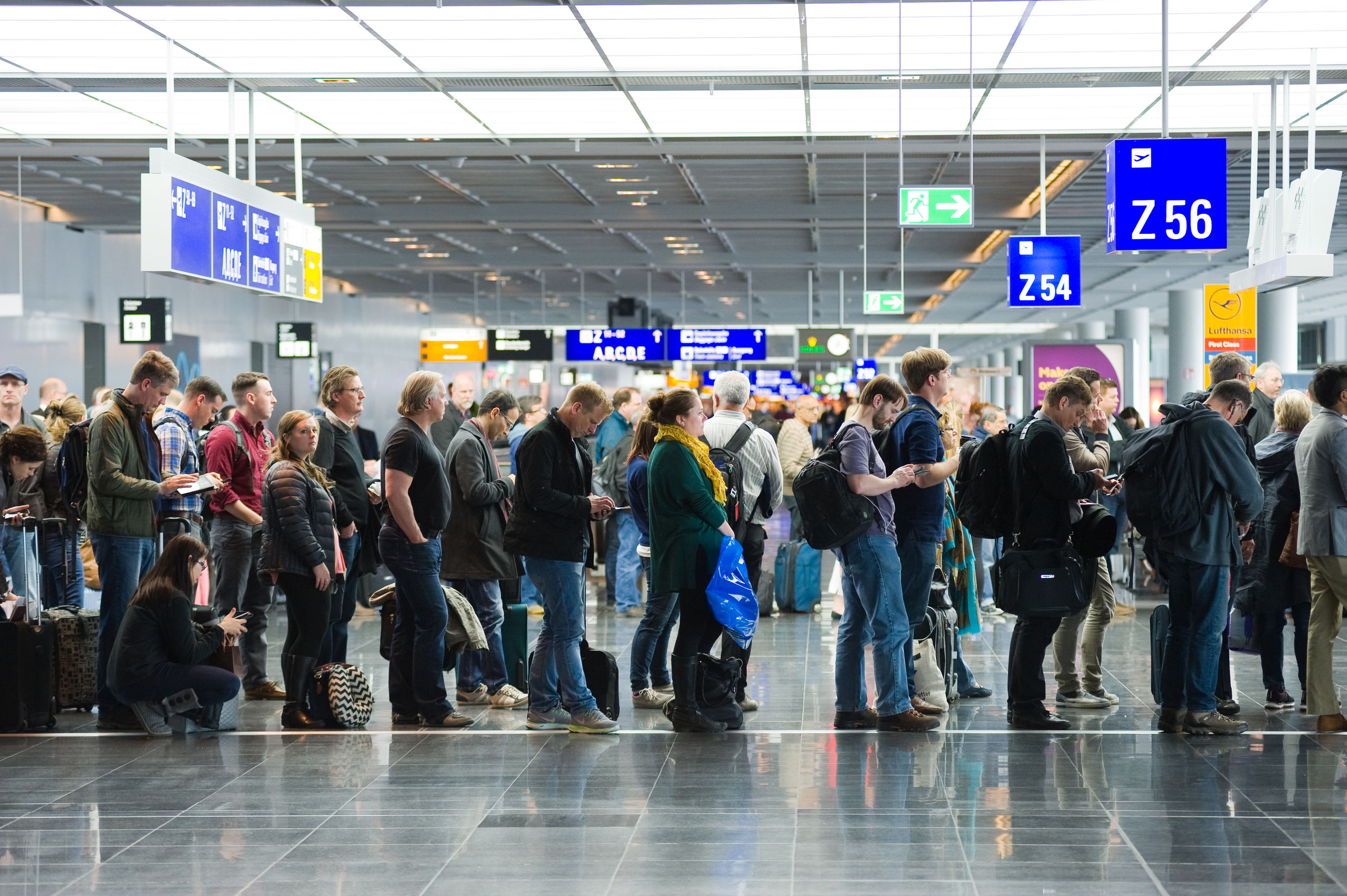 Article image for A UK company wants to weigh airline passengers at airports