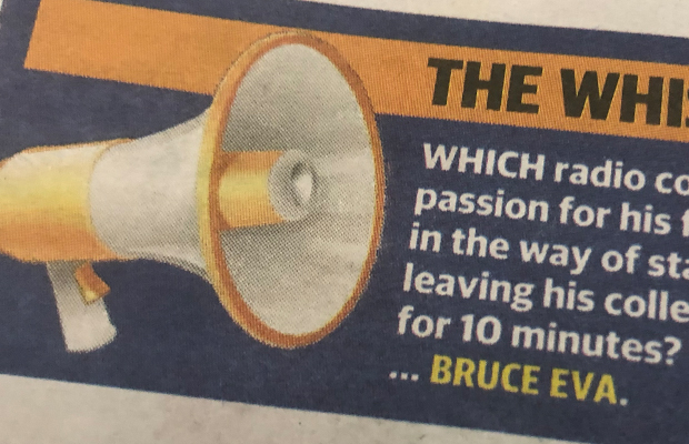 Article image for Bruce Eva responds to THAT accusation in The Herald Sun!