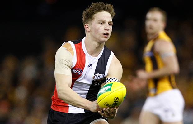 Article image for Jack Billings will '100 per cent' re-sign with St Kilda