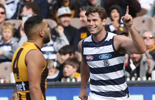 LIVE FOOTY! The Cats and Hawks renew their rivalry on Easter Monday…