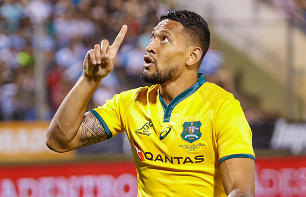 Article image for Neil Mitchell lashes Qantas over its selective outrage with Israel Folau