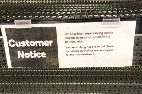 Article image for Rumour File: Price dispute to blame for lack of pet food on supermarket shelves