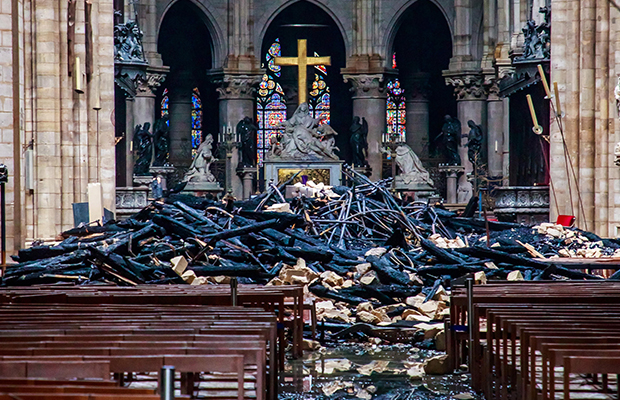 Article image for Reason Party leader says Australian taxpayers shouldn't be funding Notre Dame rebuild
