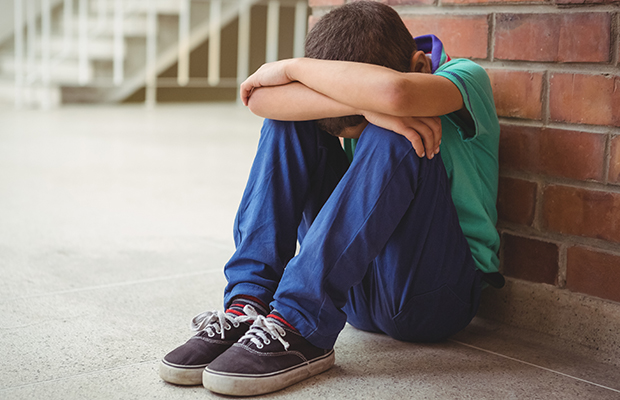 Article image for School kids as young as five are self-harming, report reveals