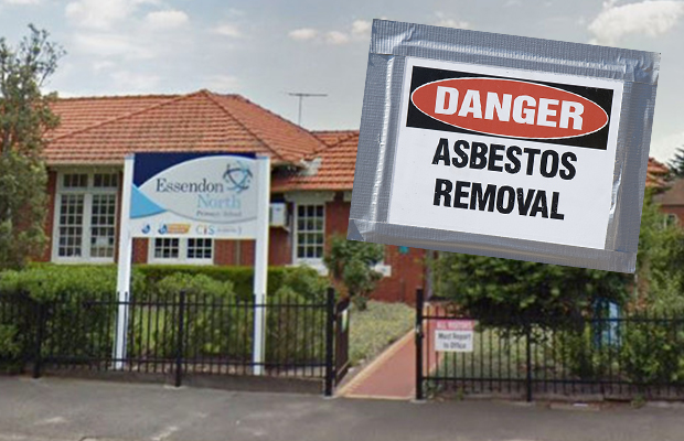 Article image for 'It's a construction site': Angry parent refuses to send kids back to school over asbestos fears