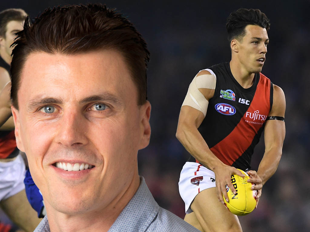 Article image for Lloyd can't see an Essendon weakness on paper