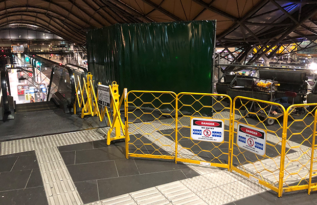 Article image for Southern Cross Station escalators STILL out of action