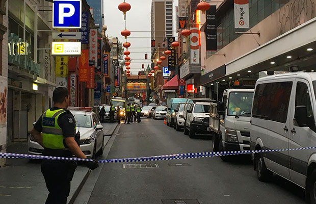 Article image for Chinatown 'murder': Man arrested, charged over CBD death