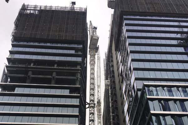 Article image for Workers evacuated from Collins Arch construction site in Melbourne's CBD
