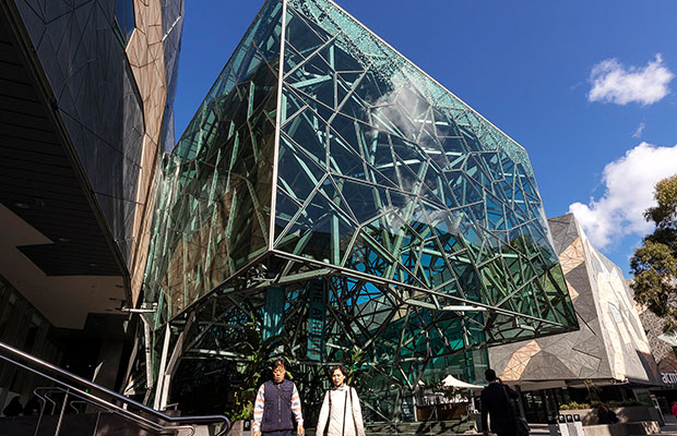 Article image for 'What I would change': Federation Square's architect hits back at 'sad' criticism