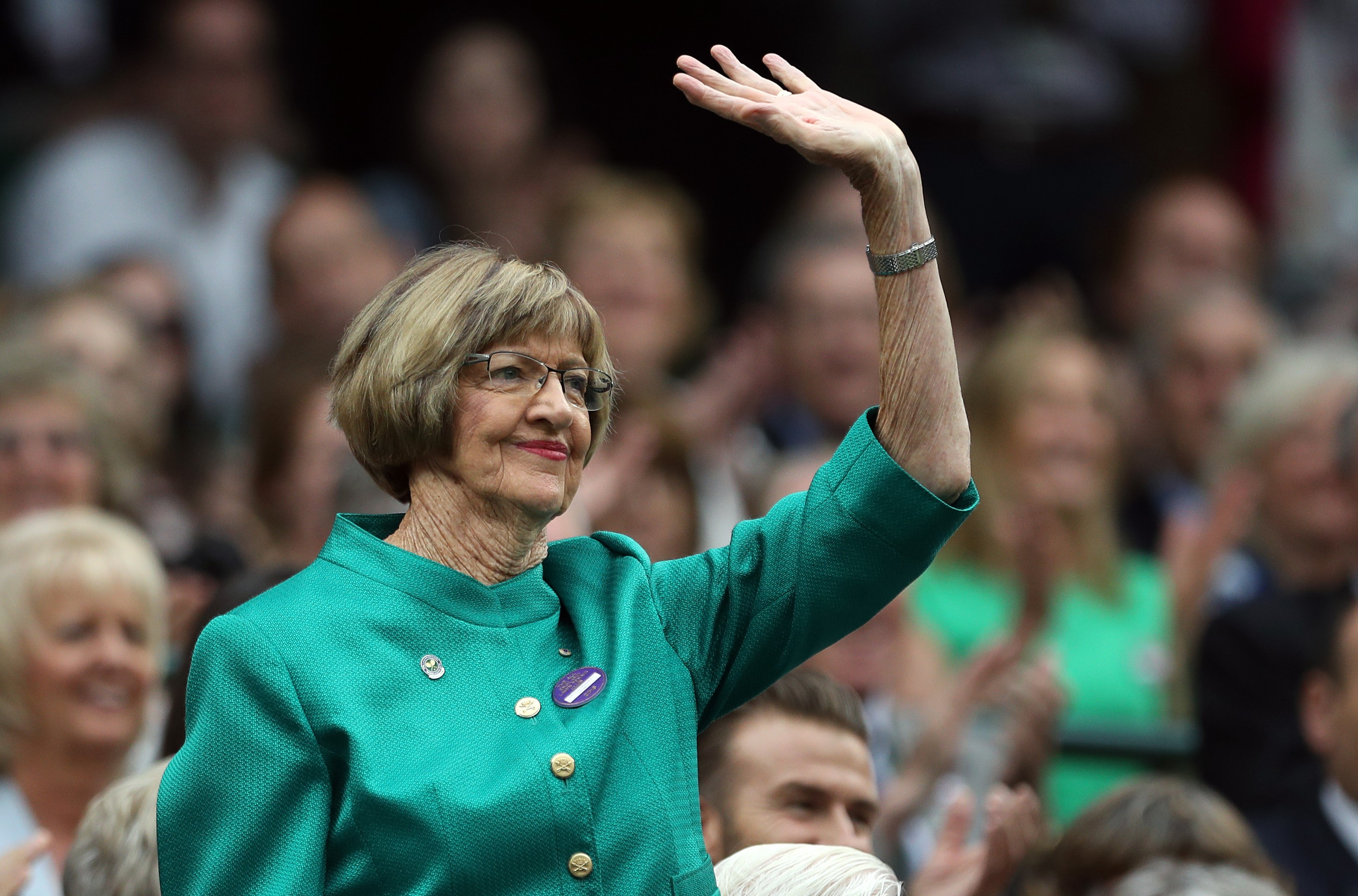 Article image for 'Your heart goes out to him': Margaret Court defends Israel Folau's comments