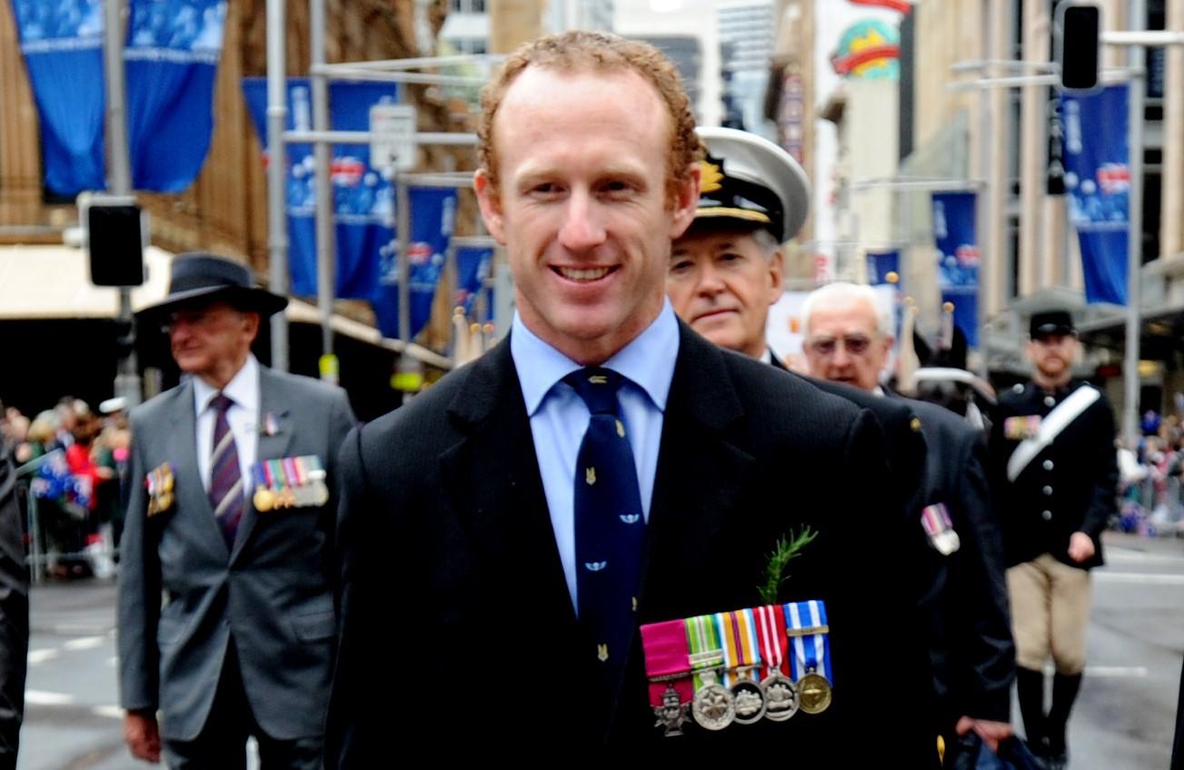 Victoria Cross recipient Mark Donaldson's message this Anzac Day