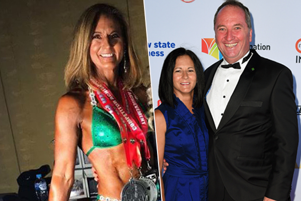 Article image for Barnaby Joyce's ex-wife Natalie now a 'happy and healthy' competitive bodybuilder