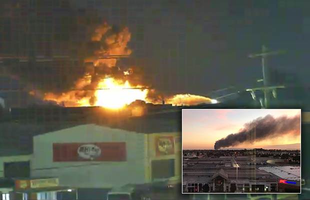 Article image for 'The intensity is just enormous': Massive factory fire in Campbellfield
