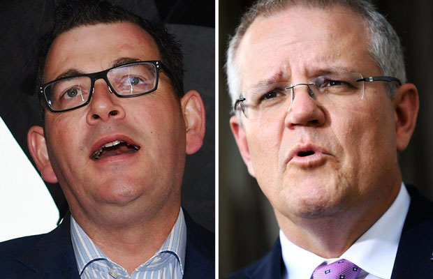 Article image for Full interview: Scott Morrison reacts to Daniel Andrews' $1m bid to beat him