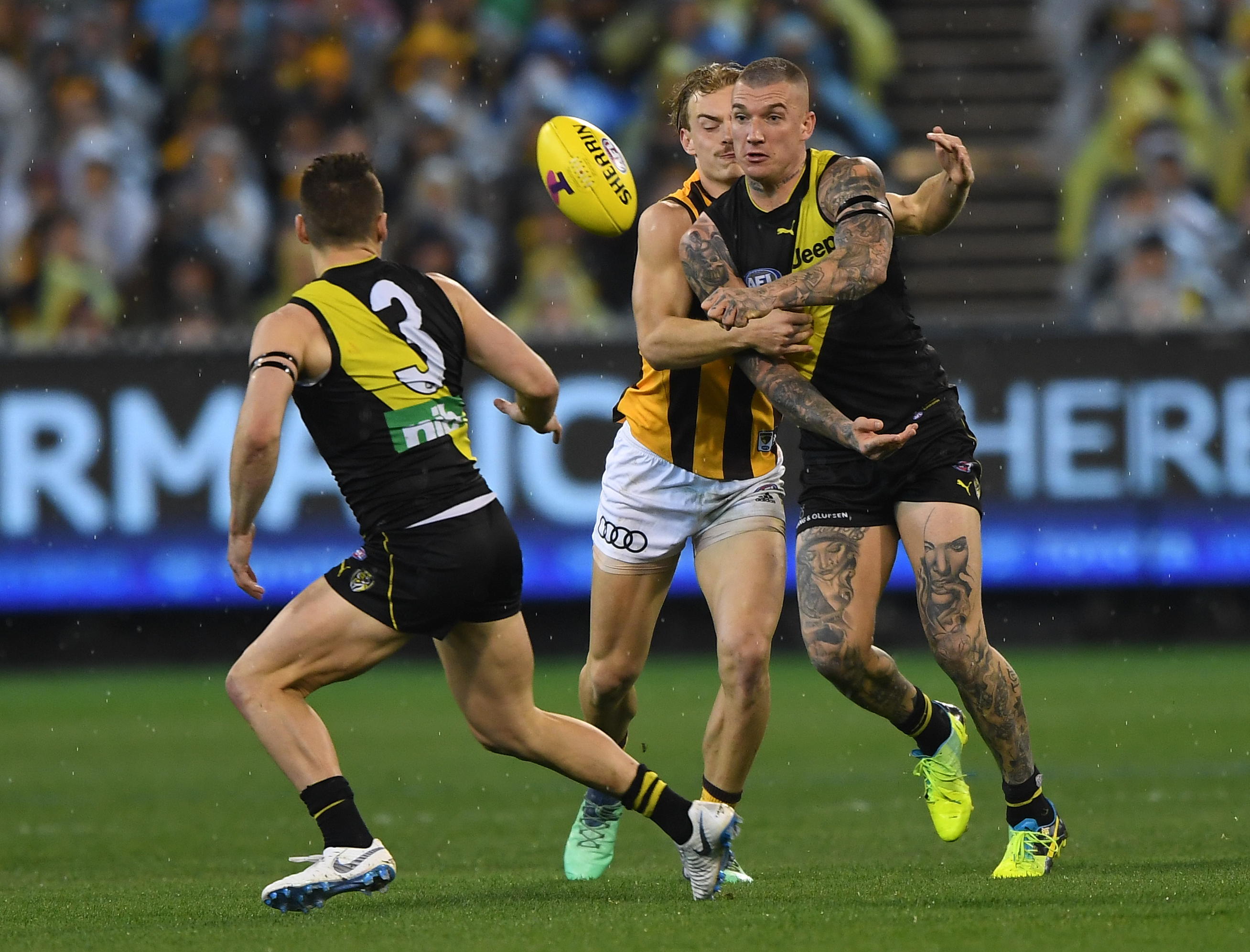 Article image for Tigers take a convincing win over the Hawks