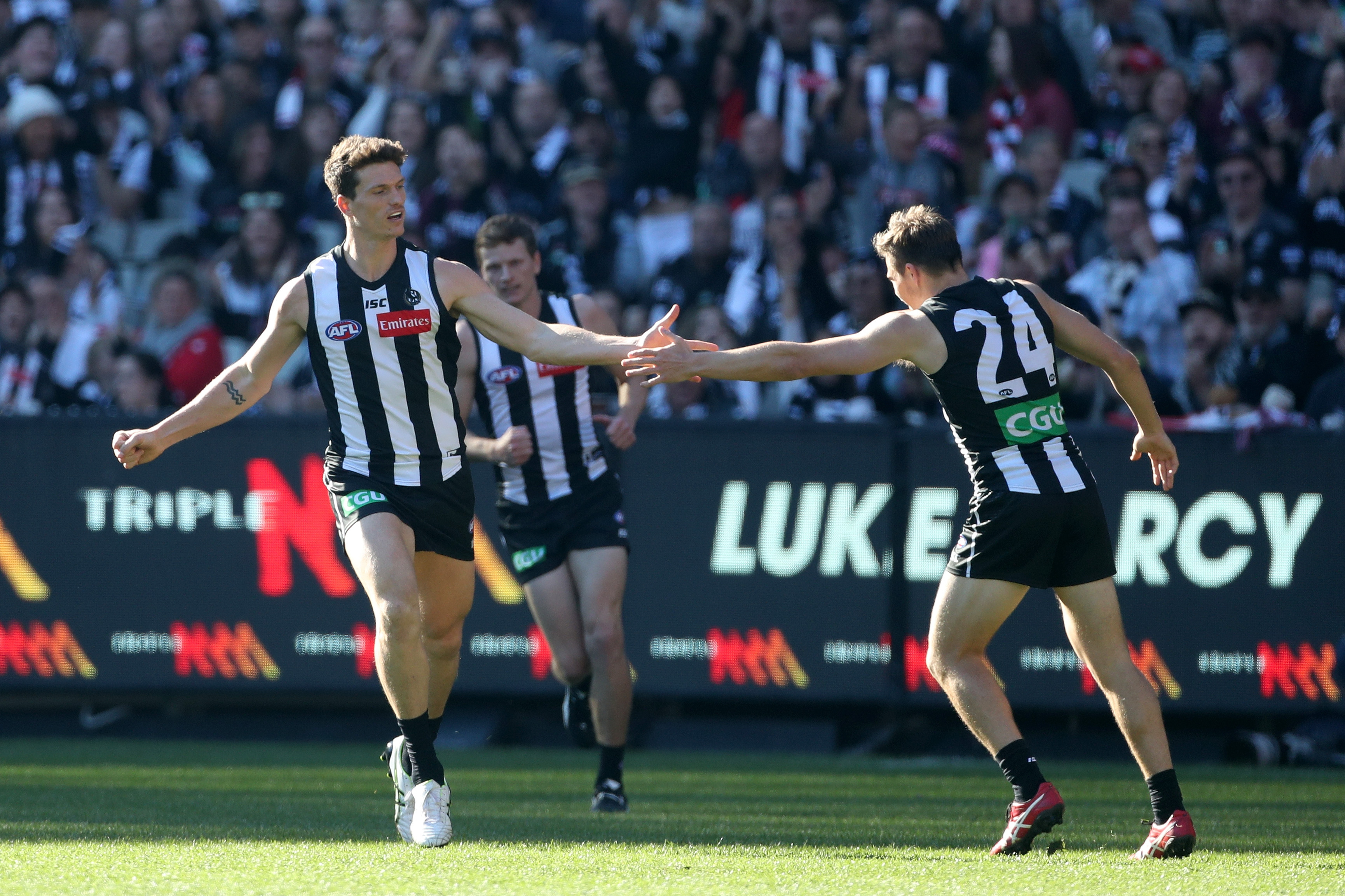 The Pies blow away the Saints by 41 points