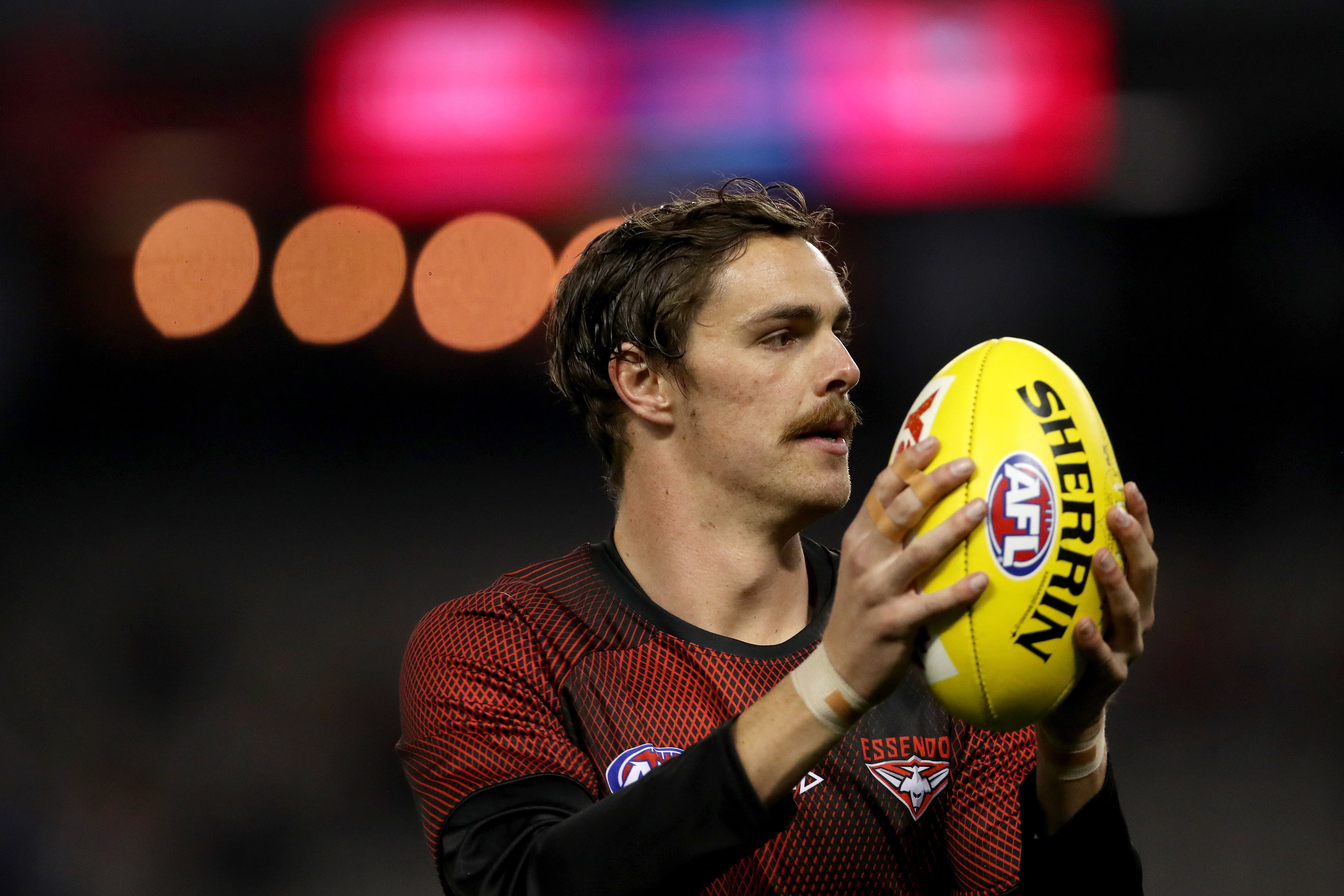 Article image for Essendon star Joe Daniher won't play again this year