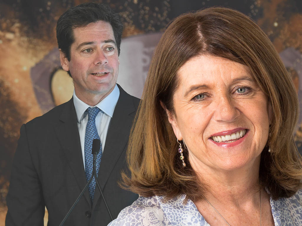 Article image for Caro says it's 'unusual' there's no AFL CEO succession plan