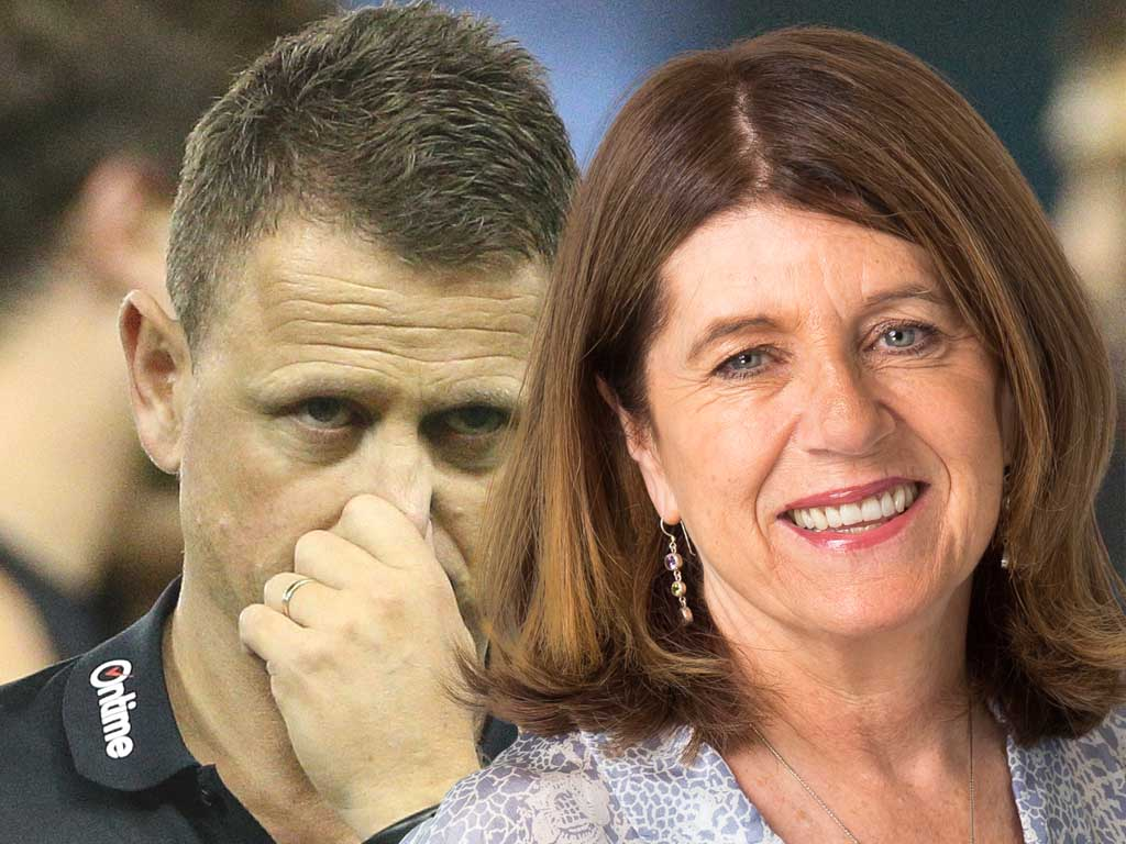 Article image for Caroline Wilson questions Carlton's response to McGuire comment