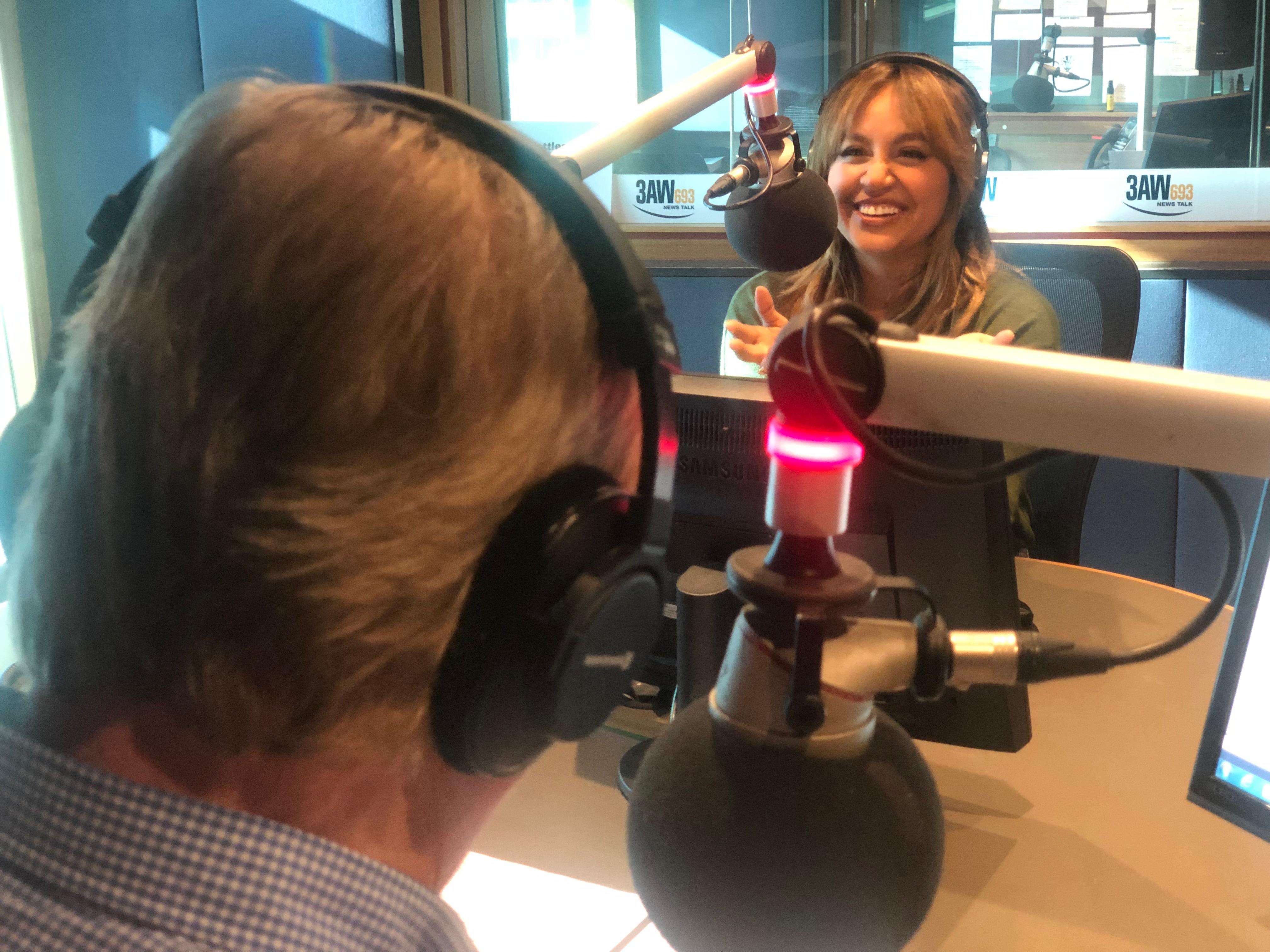 Article image for Full interview: Australia's golden girl Jessica Mauboy joins Denis Walter