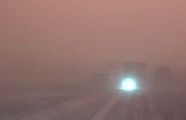 Article image for Dust storm leaves Mildura in darkness