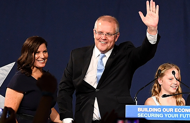 Article image for Morrison's 'miracle': Coalition claims government in 'extraordinary result'