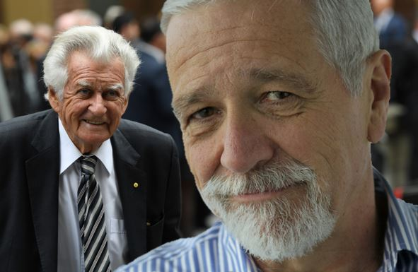 Article image for 'He chased me naked through the corridors': Neil Mitchell remembers Bob Hawke