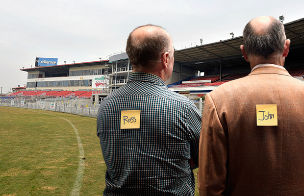 Article image for Ross and John have one question about the $150 million Whitten Oval proposal