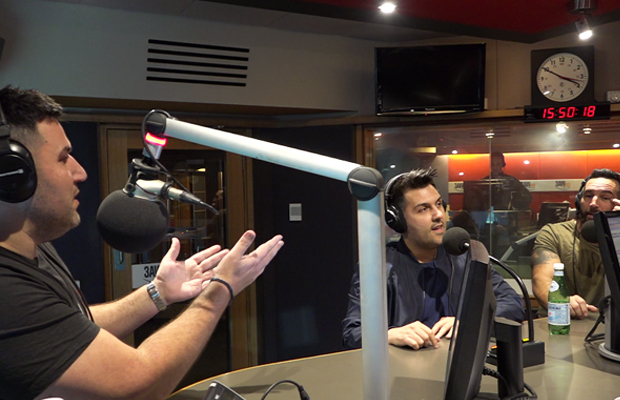 Article image for Tom Elliott's favourite comedy trio joins him in studio!
