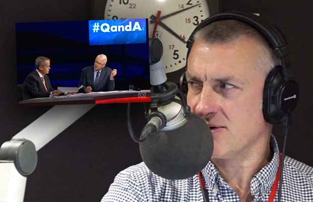 Tom Elliott goes into bat for ABC host Tony Jones after Bill Shorten's 'unbelievable' response