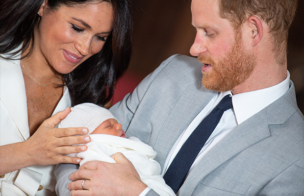 Article image for See the photos: Harry and Meghan introduce their son to the world — and the Queen