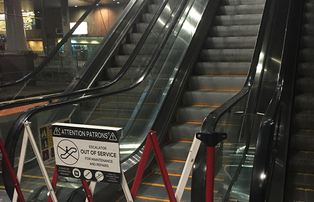 Article image for Now you see it, now you don't: New twist to Southern Cross escalator saga