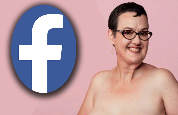 Article image for Boob ban: 'Insulted' breast cancer survivor's clear message for Facebook