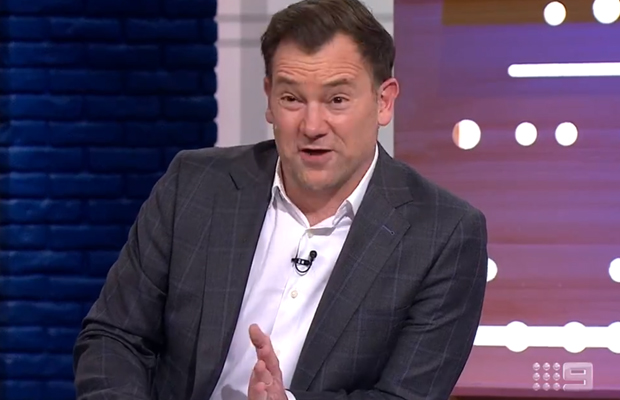 Article image for 'We're getting boned, mate': The moment Lehmo knew the Footy Show was cooked