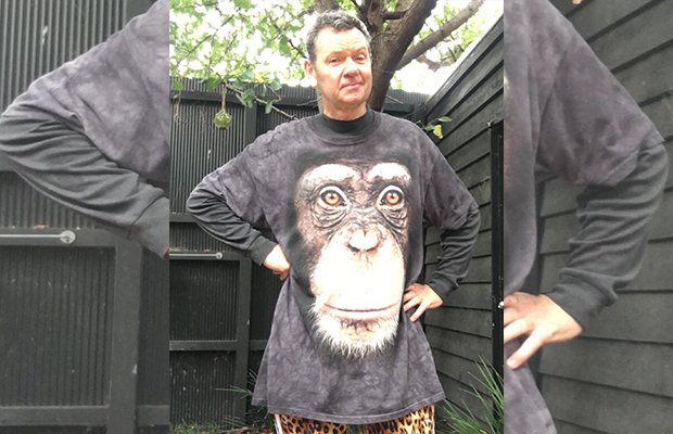 Article image for Comedian heckled over apparently 'racist' shirt