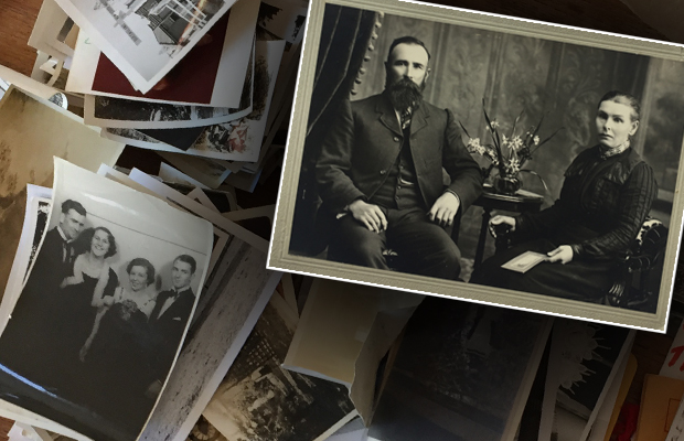 Article image for Photo mystery: Historic snaps found on the street