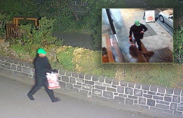 Article image for Tracing a wanted man: CCTV trail from moments after shooting death