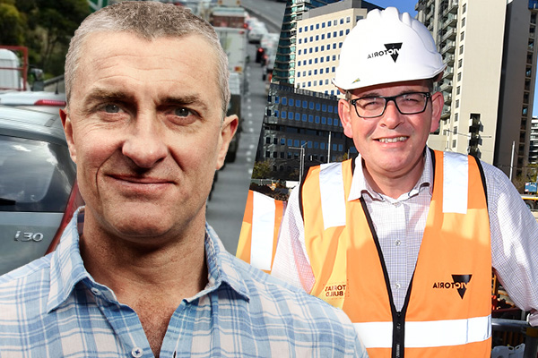 Article image for 'It's free money': Tom Elliott says Daniel Andrews should agree to build the East West Link