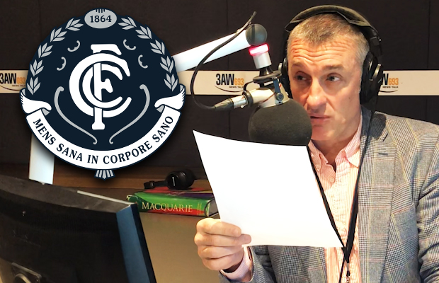 Article image for Tom Elliott says Carlton has hit 'rock bottom' after GWS thrashing