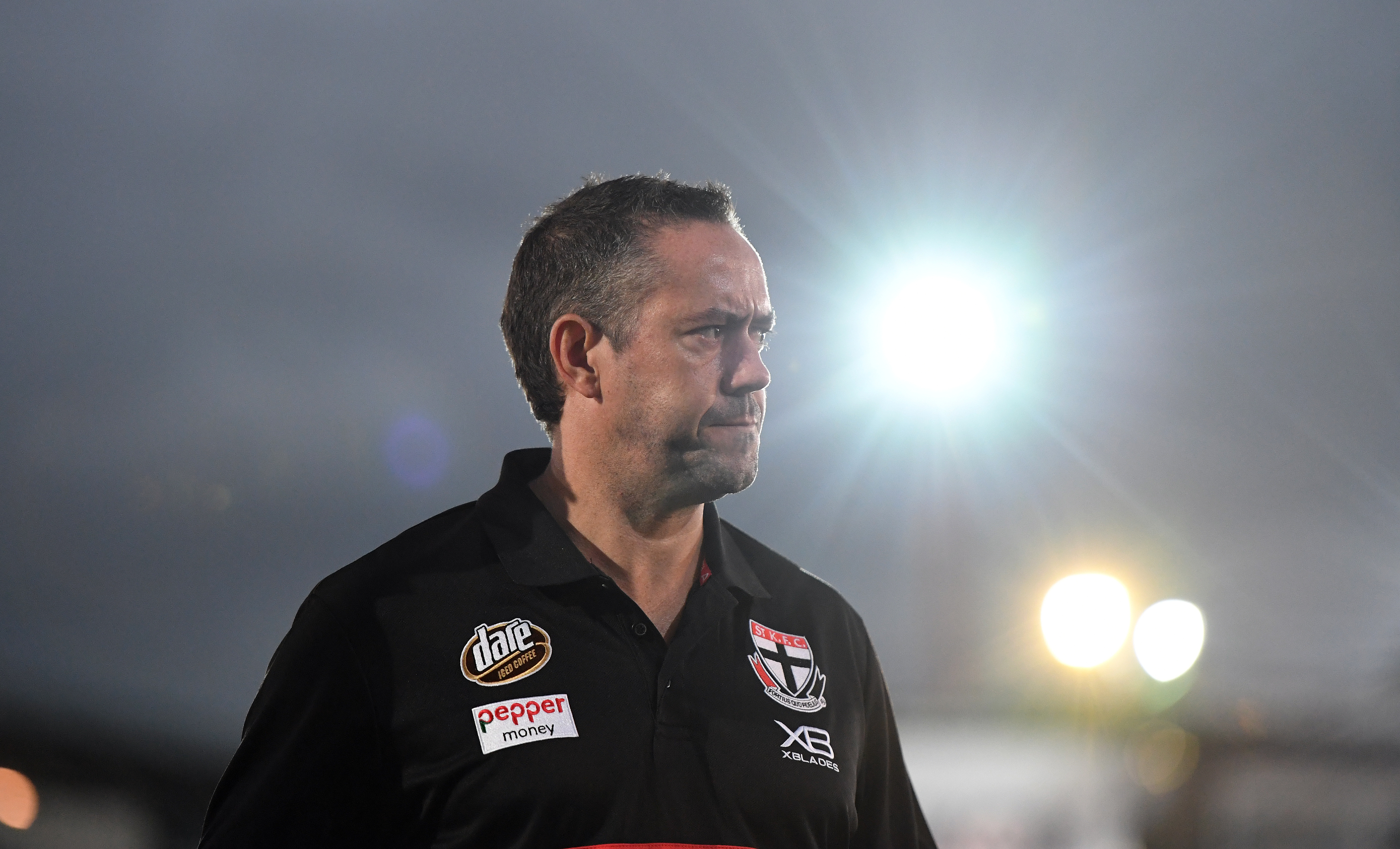 Article image for St Kilda footy boss speaks out after Saturday's 'disappointing' flogging