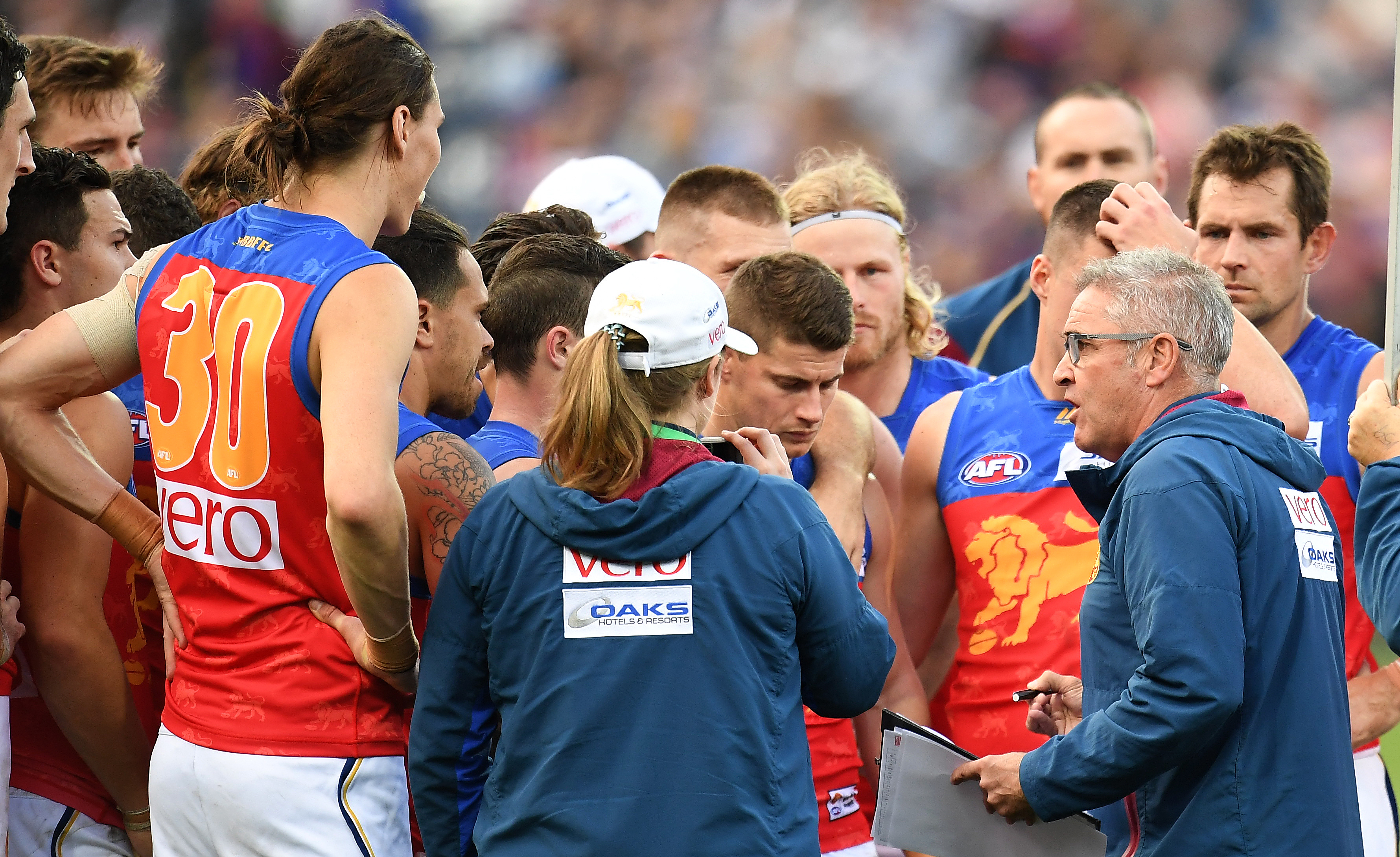 Article image for Chris Fagan reveals the unique way he coaches Mitch Robinson