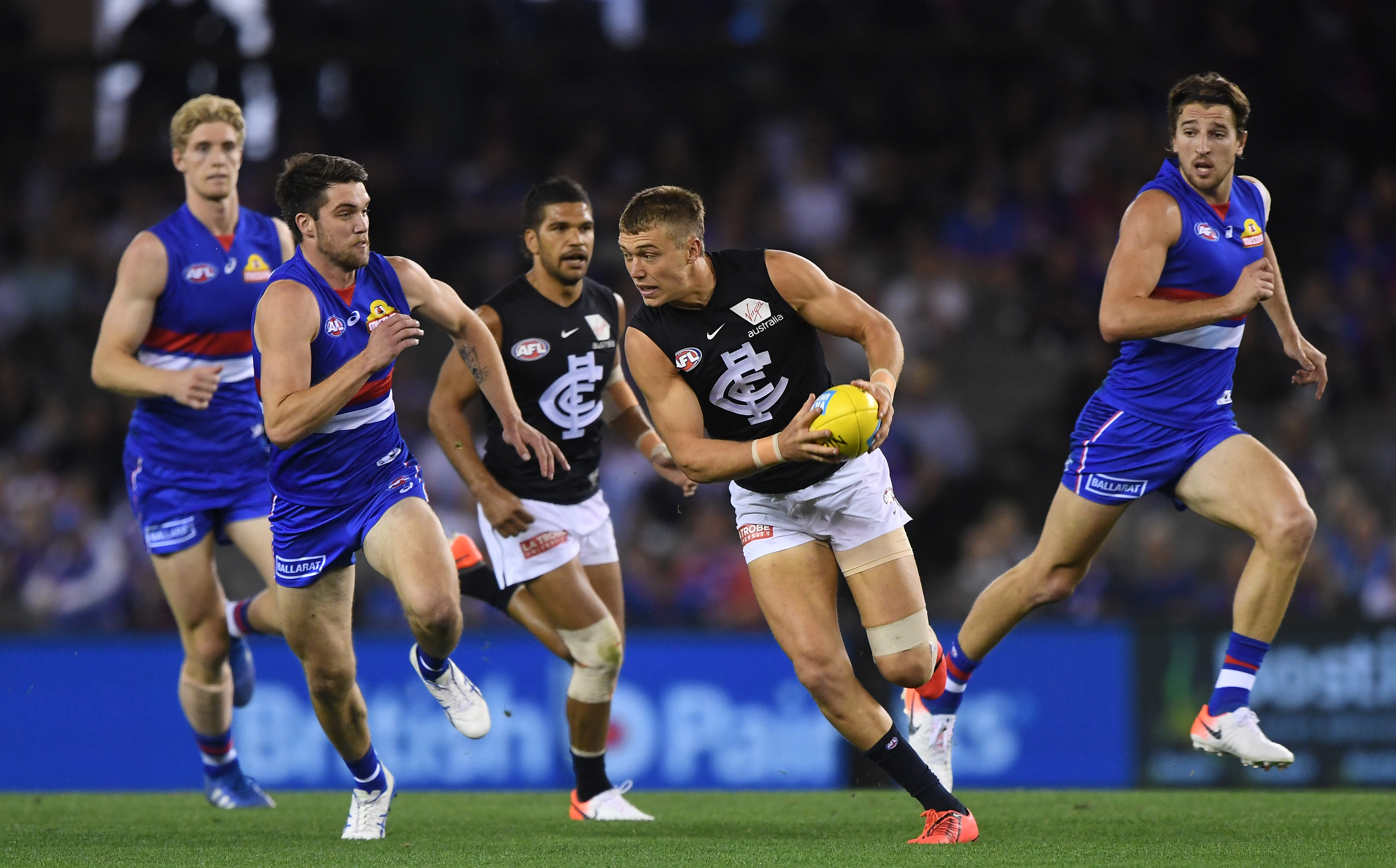 Article image for The Doggies hold on for a win, but only just!