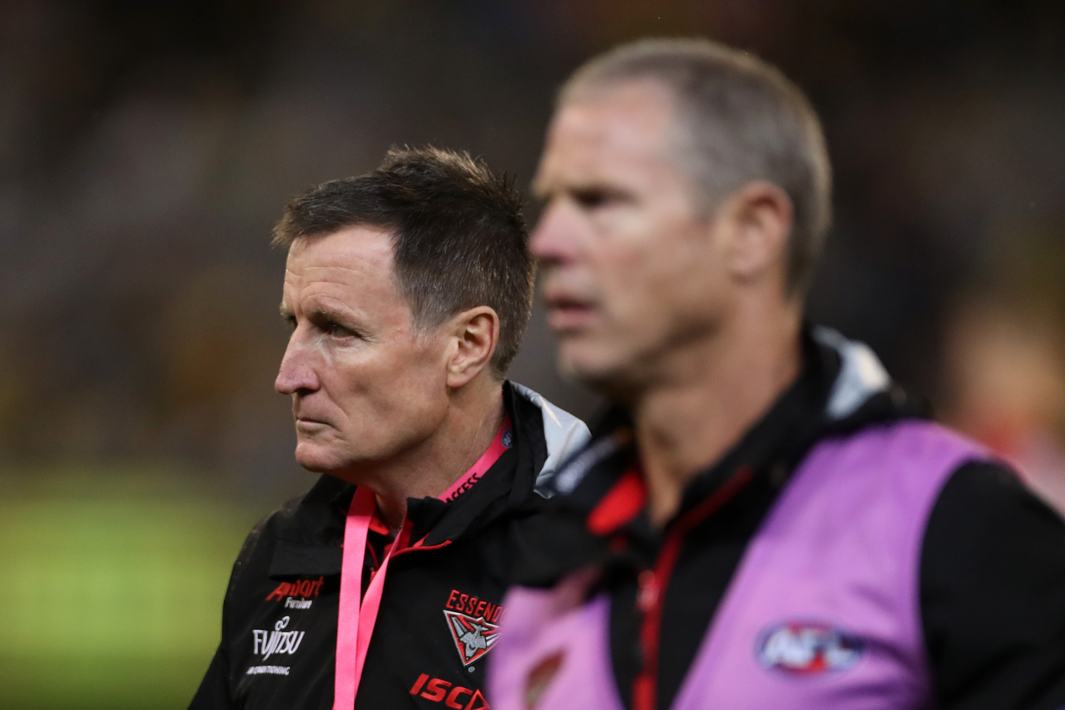 Article image for Robinson slams 'pretty weak' Essendon, says talk around Worsfold is 'warming up'