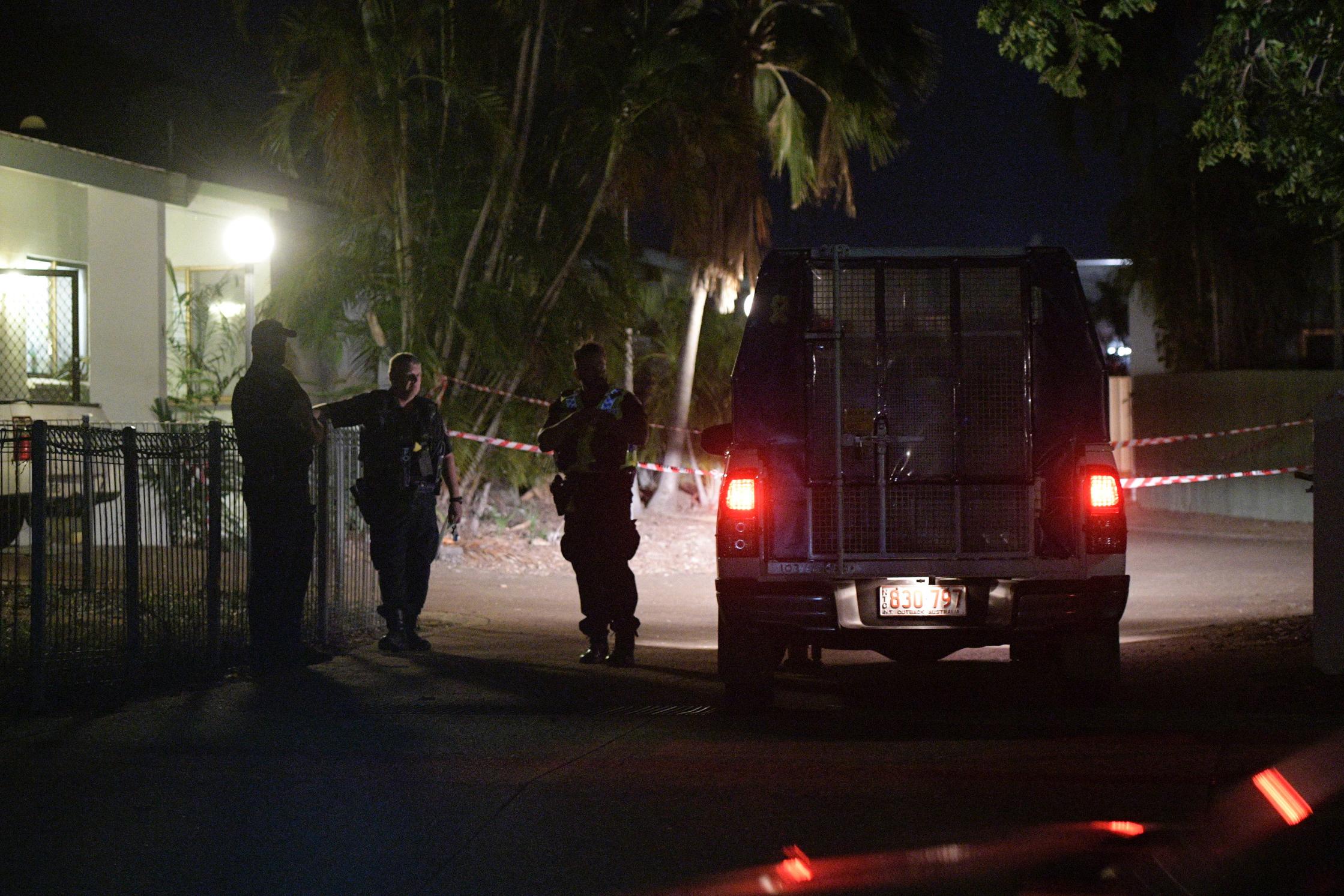 Article image for Darwin killing spree: Shooter was wearing an ankle bracelet