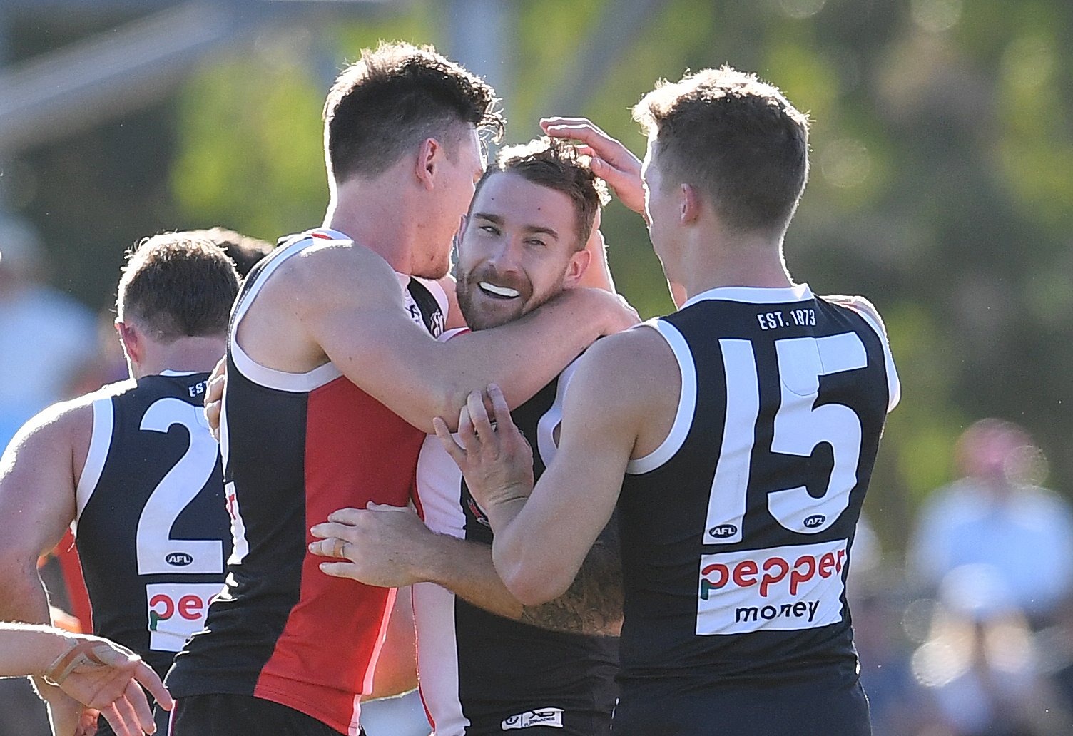 Article image for St Kilda sneak home in Townsville thriller