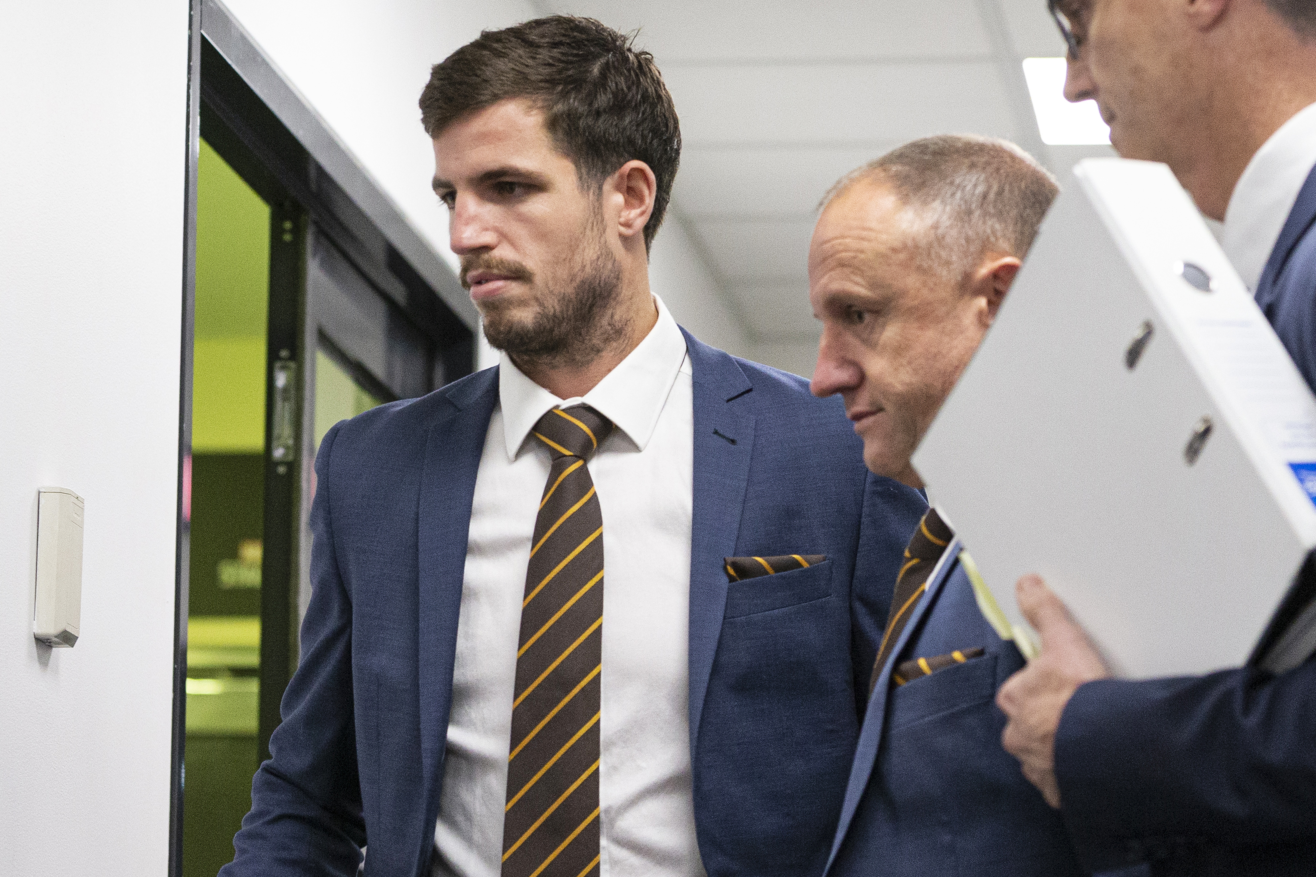 Article image for Hawthorn captain Ben Stratton suspended at tribunal